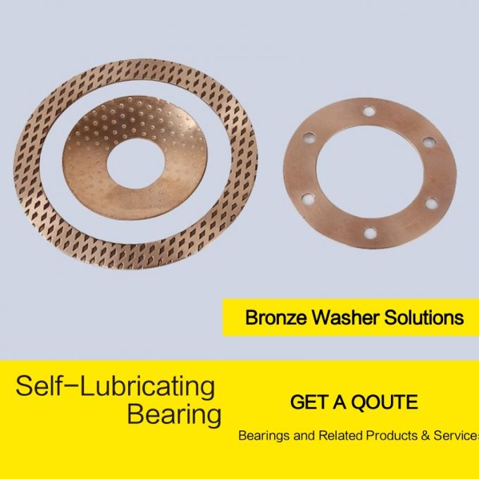wrapped bronze bearing