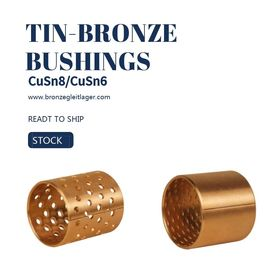 Tin Bronze DIN CuSn8 Sleeve Bushings E90 E90F PRM PRMF BMZ FB090 Diamond Hole Type dostawca