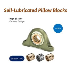 Machinery Self Lubricated Pillow Blocks For Standard Shaft