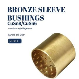 Chiny Tin Bronze DIN CuSn8 Sleeve Bushings E90 E90F PRM PRMF BMZ FB090 Round Oil Pockets fabryka